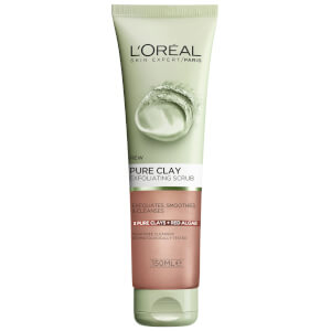 L'Oréal Paris Pure Clay Red Algae Exfoliating Scrub 150ml