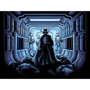 Star Wars - I Find Your Lack of Faith Disturbing Print by Dan Mumford (450mm x 610mm)
