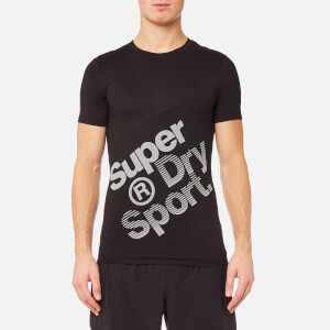 Superdry Men's Gym Base Sprint Runner T-Shirt - Black