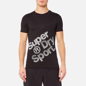 Superdry Men's Gym Base Sprint Runner T-Shirt - Black