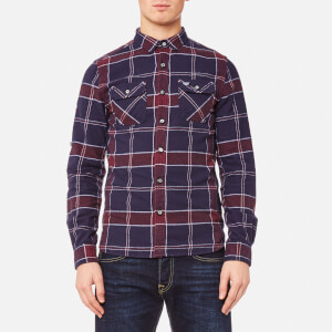 Superdry Men's Refined Lumberjack Shirt - Navy Tundra/Grindle Check