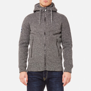 Superdry Men's Expedition Zip Hoody - Grey Grit