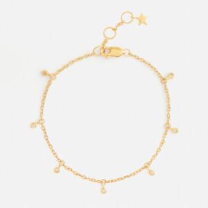 Missoma Women's Interstellar Drop Bracelet - Gold