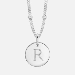 Missoma Women's Gold 'R' Initial Necklace - Gold