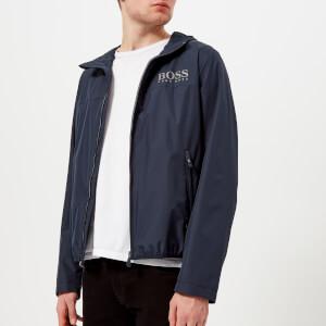 BOSS Green Men's Jeltech Zipped Jacket - Navy