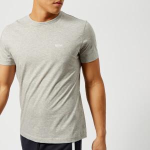 BOSS Green Men's Tee Small Logo T-Shirt - Grey