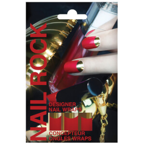 Nail Rock Nail Wraps - Red
