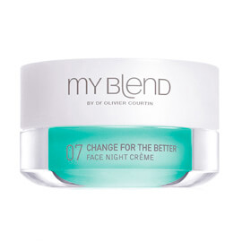 My blend FORMULE 07 NUIT, Change For The Better, Peau mature, sèche, sujette aux modifications hormonales.