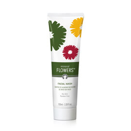 Mineral flowers Nettoyant Visage