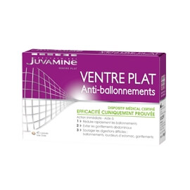 Laboratoires Juvamine Dispositif Médical Ventre Plat Anti-ballonnements