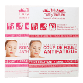 Hayasei MASQUE TISSU VISAGE ANTI-IMPERFECTION / ANTI-FATIGUE