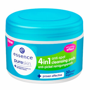 essence pure skin 4in1 anti-spot cleansing pads