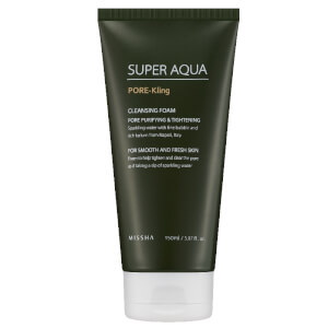 Missha Super Aqua Pore Correcting Cleansing Foam