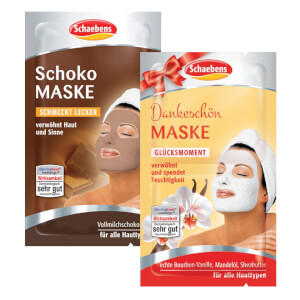 Schaebens Schoko MASKE & Dankeschön MASKE
