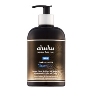 ahuhu organic hair care 2in1 ALL OVER SHAMPOO