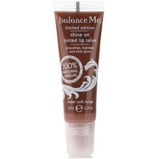 Balance Me Shine On Tinted Lip Salve Super Soft Beige