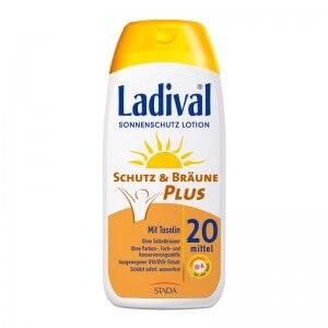 LADIVAL® Schutz & Bräune Plus Sonnenschutz Lotion LSF 20 bzw. 30