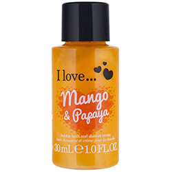 I Love... Bubble Bath & Shower Mango & Papaya