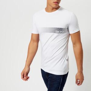 BOSS Hugo Boss Men's Printed Crew Neck T-Shirt - White