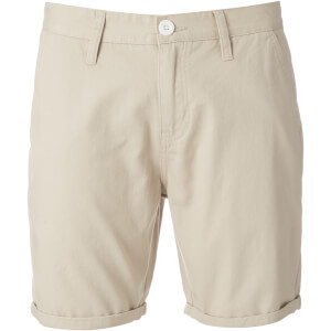 Brave Soul Men's Smith Chino Shorts - Stone