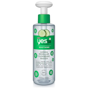 Eau Nettoyante Micellaire Calmante Calming Micellar Cleansing Water yes to cucumbers