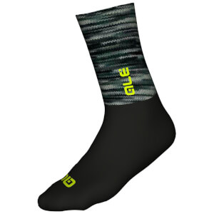 Alé Merino Logo Winter Socks - Grey/Black