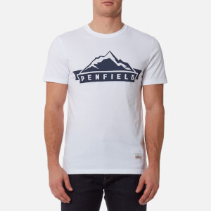 Penfield Men's Mountain T-Shirt - White