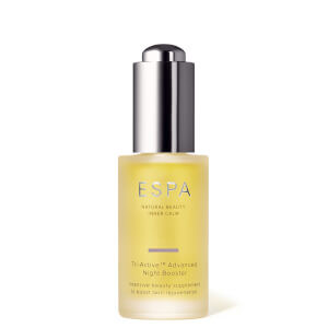 Tónico estimulante de noche TriActive Advanced de ESPA 30ml
