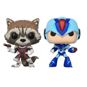 Pack 2 Figuras Pop! Vinyl Rocket vs. Mega Man - Marvel vs Capcom