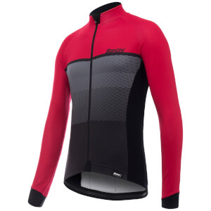 Santini Epic Winter Long Sleeve Jersey - Red