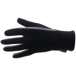 Santini Vega Aquazero Winter Gloves - Black