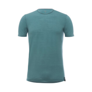 Santini Wool Tech T-Shirt Baselayer - Green