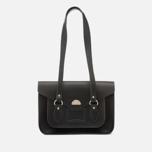 The Cambridge Satchel Company Women's Large Twist Lock Shoulder Bag - Black