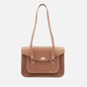 The Cambridge Satchel Company Women's Large Twist Lock Shoulder Bag - Biscuit