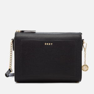 DKNY Women's Bryant Medium Box Cross Body Bag - Black
