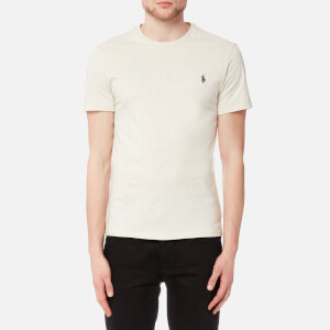 Polo Ralph Lauren Men's Short Sleeve Crew Neck T-Shirt - New Sand Heather
