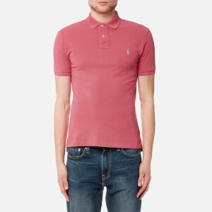 Polo Ralph Lauren Men's Slim Fit Polo Shirt - Salmon Heather
