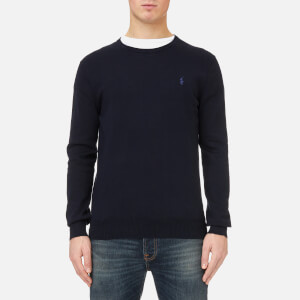 Polo Ralph Lauren Men's Pima Cotton Knitted Jumper - Navy