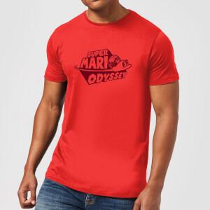 T-Shirt Super Mario Odyssey Nintendo - Rouge