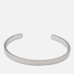 Miansai Men's Singular Cuff Bracelet - Matte Silver