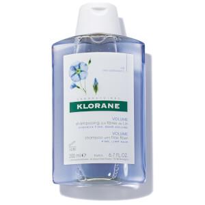 Shampoo de Fibras de Linho da KLORANE 200 ml