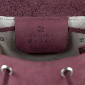 MyBag x Grafea Exclusive Women's Hari Nubuck Backpack - Burgundy: Image 6