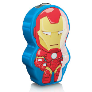 Philips Marvel Avengers Iron Man Children's Pocket Torch and Nightlight from I Want One Of Those