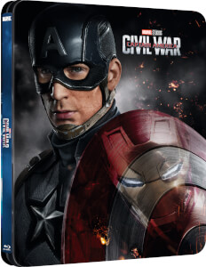 Captain America 3: Civil War 3D (Includes 2D Version) - Zavvi Exclusive Lenticular Edition Steelbook