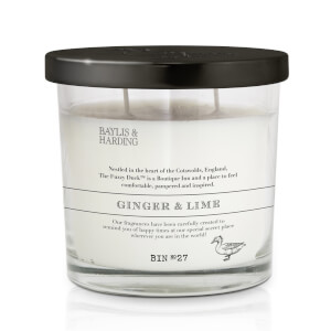 Baylis & Harding Fuzzy Duck Classic Ginger and Lime 2 Wick Candle