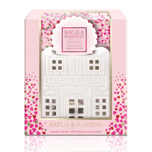 Baylis & Harding Rose Prosecco Wax Melt House Set