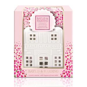 Baylis & Harding Rose Prosecco Wax Melt House Set