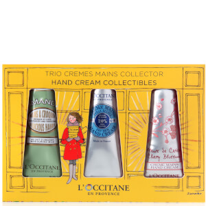 L'Occitane 3 Piece Hand Cream Collectibles Set (Worth $36.00)