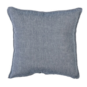 Bloomingville Linen Cushion - Blue
