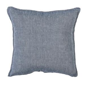Bloomingville Linen Cushion - Blue